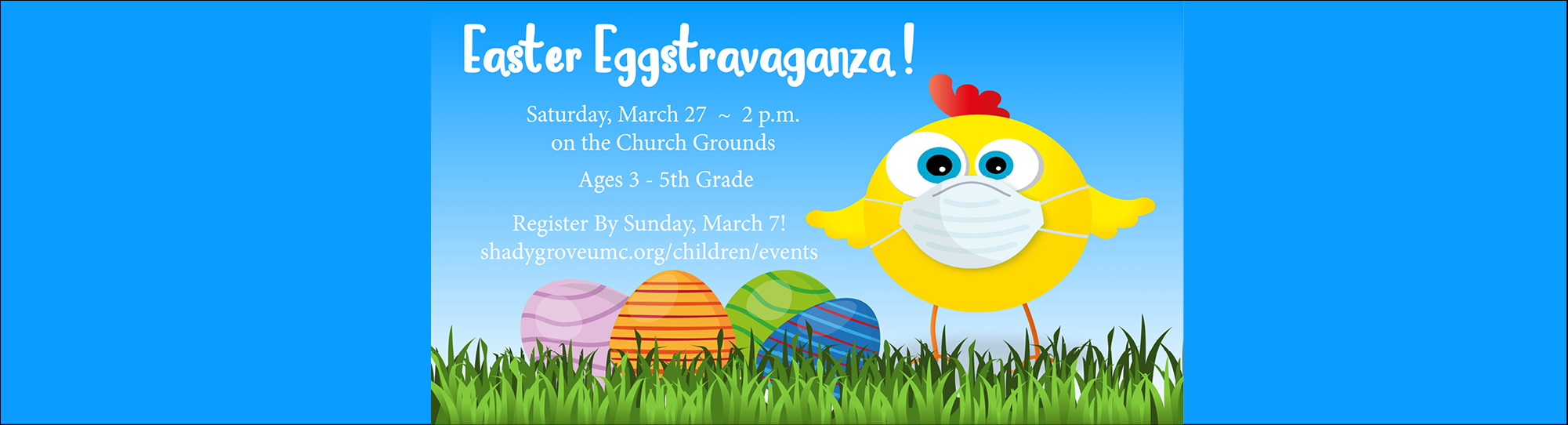 Easter Eggstravagnaza Saturday, March 27 2 p.m.