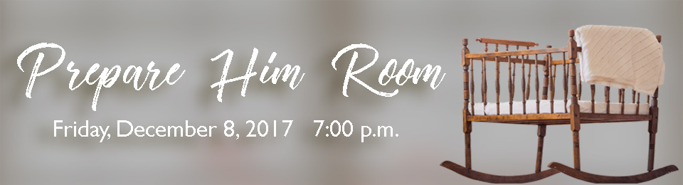 Prepare Him Room, A Christmas Concert, Friday, December 8 at 7 p.m. Shady Grove UMC, Mechanicsville Sanctuary